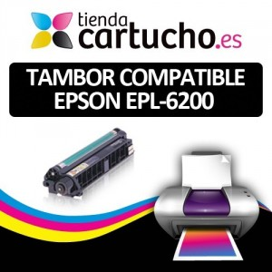 TAMBOR COMPATIBLE EPSON EPL-6200 PARA LA IMPRESORA Konica Minolta PagePro 1380W Toner