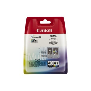 PACK CANON PG40+CL41 ORIGINAL PARA LA IMPRESORA Canon Pixma MP140 Tinteiros
