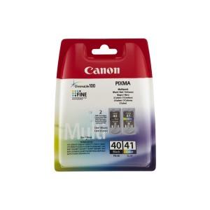 PACK CANON PG40+CL41 ORIGINAL PARA LA IMPRESORA Canon Pixma IP1880 Tinteiros