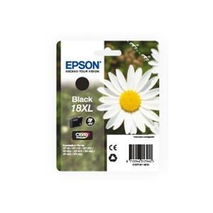 ORIGINAL EPSON 18XL NEGRO, para impresoras Expression Home XP-102, XP-202, XP-205, XP-30, XP-302 PERTENENCIENTE A LA REFERENCIA Epson 18 / 18XL Tinteiros