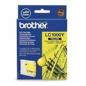 Brother LC-1000 amarillo cartucho de tinta original. PARA LA IMPRESORA Brother DCP-680CN Tinteiros
