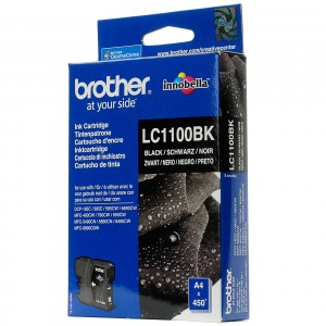 Brother LC1100 negro cartucho de tinta original. PARA LA IMPRESORA Brother DCP-383C Tinteiros
