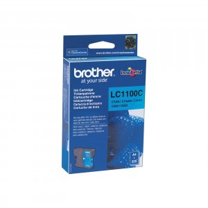 Brother LC1100 cian cartucho de tinta original. PARA LA IMPRESORA Brother DCP-J715W Tinteiros