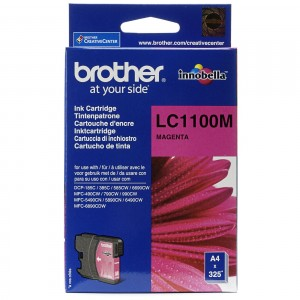 Brother LC1100 magenta cartucho de tinta original. PARA LA IMPRESORA Brother DCP-J715W Tinteiros