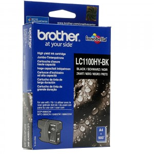 Brother LC1100 XL negro cartucho de tinta original alta capacidad. PARA LA IMPRESORA Brother DCP-J715W Tinteiros