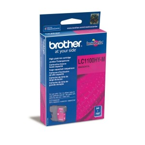 Brother LC1100 XL magenta cartucho de tinta original alta capacidad. PARA LA IMPRESORA Brother DCP-J715W Tinteiros