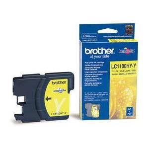 Brother LC1100 XL amarillo cartucho de tinta original alta capacidad. PARA LA IMPRESORA Brother DCP-383C Tinteiros