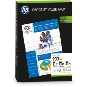 ORIGINAL HP OFFICEJET 933XL Value Pack PARA LA IMPRESORA HP OfficeJet 7612 e-All-in-One Tinteiros