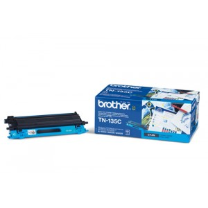 Brother TN135C toner cian original PERTENENCIENTE A LA REFERENCIA Brother TN-135 Toner