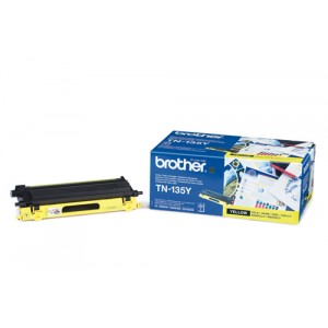 Brother TN135YN toner amarillo original PERTENENCIENTE A LA REFERENCIA Brother TN-135 Toner