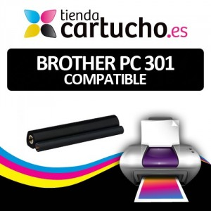 BROTHER FAX PC-301 / PC-302RF / PC-304RF compatible PARA LA IMPRESORA Brother Fax-985MC Fitas de Transferência