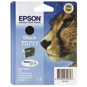 Cartucho EPSON 711 NEGRO ORIGINAL PERTENENCIENTE A LA REFERENCIA Epson T0711/2/3/4 Tinteiros