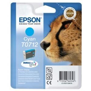 Cartucho EPSON 712 CYAN ORIGINAL PERTENENCIENTE A LA REFERENCIA Epson T0711/2/3/4 Tinteiros