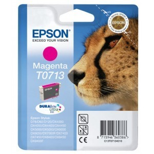 Cartucho EPSON 713 MAGENTA ORIGINAL PARA LA IMPRESORA Epson Stylus Office BX 300 F Tinteiros