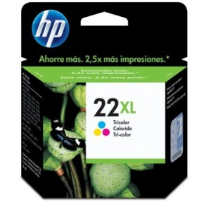 Cartucho HP 22XL ORIGINAL PARA LA IMPRESORA HP OfficeJet 4359 Tinteiros