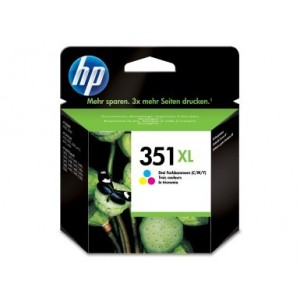Cartucho ORIGINAL HP 351XL TRICOLOR PARA LA IMPRESORA HP OfficeJet J5735 Tinteiros
