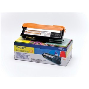 Brother TN328Y toner amarillo original PARA LA IMPRESORA Brother HL-4570CDWT Toner