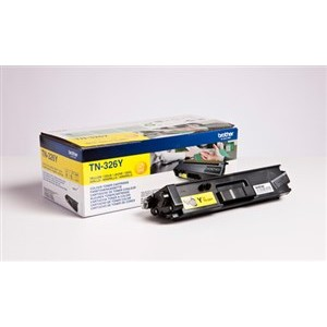 Brother TN326Y toner amarillo original PARA LA IMPRESORA Brother MFC-L8650CDW Toner