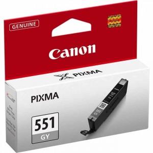 Cartucho ORIGINAL CANON CLI 551 GRIS para impresoras PIXMA iP7250 / MG5450 / MG6350 PARA LA IMPRESORA Canon Pixma IX6850 Tinteiros