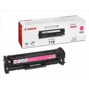 Canon 718M toner magenta original, referencia Canon 2660B002AA PARA LA IMPRESORA Canon I-Sensys LBP 7200 Toner