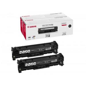 Canon 718BK2 pack 2 toner original, referencia Canon 2662B005AA PARA LA IMPRESORA Canon I-Sensys LBP 7200 Toner