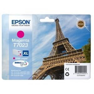 EPSON ORIGINAL T7023 MAGENTA PERTENENCIENTE A LA REFERENCIA Epson T7011/2/3/4 Tinteiros