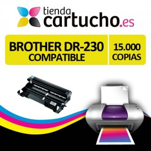 TAMBOR BROTHER DR-230 AMARILLO COMPATIBLE PERTENENCIENTE A LA REFERENCIA Brother TN-230 Toner