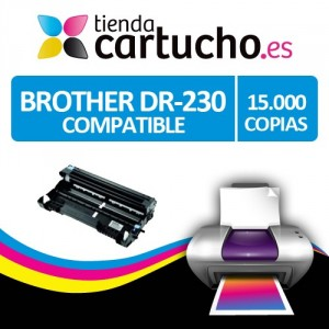 TAMBOR BROTHER DR-230 CYAN COMPATIBLE PERTENENCIENTE A LA REFERENCIA Brother TN-230 Toner