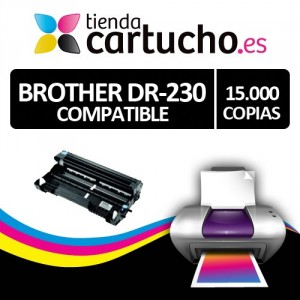 TAMBOR BROTHER DR-230 NEGRO COMPATIBLE PERTENENCIENTE A LA REFERENCIA Brother TN-230 Toner