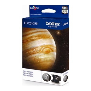 Brother LC-1240 negro cartucho de tinta original. PARA LA IMPRESORA Brother MFC-J6710 Tinteiros