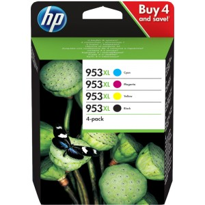 HP 953XL Pack Original 4 Cores PARA LA IMPRESORA HP OfficeJet Pro 8721 Tinteiros