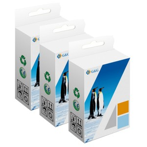 Pack 3 Tinteiros Hp 302xl Compativel Premium Preto + Cabezal PARA LA IMPRESORA HP DeskJet 3630 All-in-One Tinteiros
