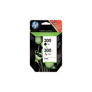 HP ORIGINAL 300 NEGRO Y TRICOLOR Pack PARA LA IMPRESORA HP PhotoSmart C4793 Tinteiros