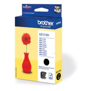 Brother LC121 negro cartucho de tinta original. PARA LA IMPRESORA Brother DCP-J132W Tinteiros