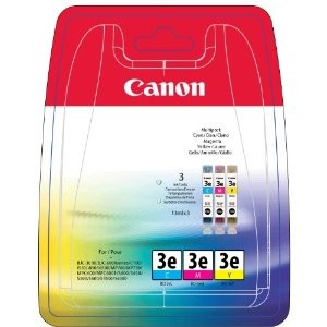 Canon BCI-6 C/M/Y pack 3 colores, cartuchos de tinta original. PARA LA IMPRESORA Canon Pixma MP750 Tinteiros