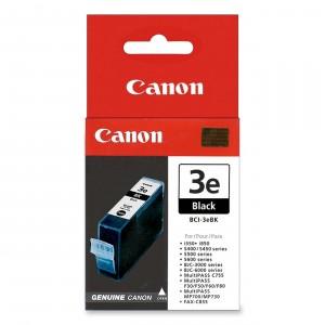 Canon BCI-3BK negro cartucho de tinta original. PARA LA IMPRESORA Canon BJS-530 Tinteiros