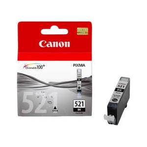 Canon CLI-521BK negro cartucho de tinta original. PERTENENCIENTE A LA REFERENCIA Canon PGI520 / CLI521 Tinteiros
