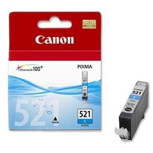 Canon CLI-521C cian cartucho de tinta original. PERTENENCIENTE A LA REFERENCIA Canon PGI520 / CLI521 Tinteiros