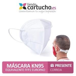 Máscara Kn95 - equivalente a Ffp2 PARA LA IMPRESORA Higiene Covid
