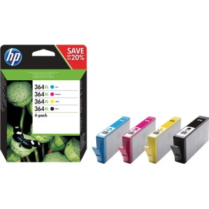 HP 364XL Pack colores (4 colores) cartucho de tinta original. PARA LA IMPRESORA HP Photosmart Wireless All-in-One Tinteiros