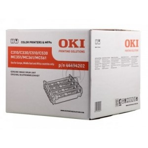 OKI TAMBOR ORIGINAL NEGRO Y COLOR C/300/500/310/330/510/530 PARA LA IMPRESORA OKI C530dn Toner
