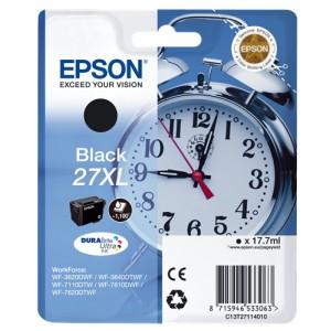 Epson 27XL Negro. T2711 Cartucho de tinta original PARA LA IMPRESORA Epson WorkForce WF-7110DTW Tinteiros