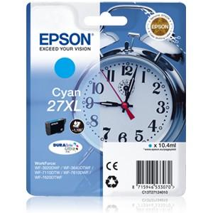 Epson 27XL Cyan. T2712 Cartucho de tinta original PARA LA IMPRESORA Epson WorkForce WF-7110DTW Tinteiros