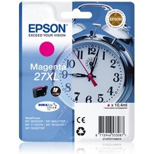 Epson 27XL Magenta. T2713 Cartucho de tinta original PARA LA IMPRESORA Epson WorkForce WF-7110DTW Tinteiros