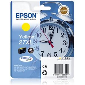 Epson 27XL Amarillo. T2714 Cartucho de tinta original PARA LA IMPRESORA Epson WorkForce WF-7110DTW Tinteiros