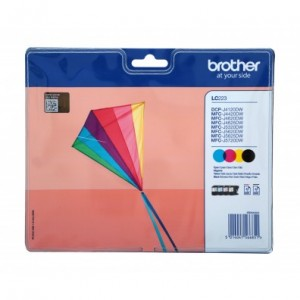 Brother LC223 multipack cartuchos de tinta original PARA LA IMPRESORA Brother DCP-J562DW Tinteiros