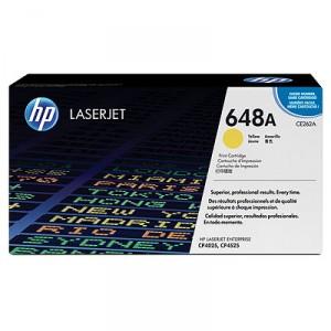 Cartucho de Toner HP 648A - CE262A Amarillo original 11000 páginas PARA LA IMPRESORA HP Color LaserJet Enterprise CP4025n Toner