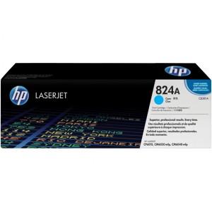 Cartucho de Toner HP 824A - CB381A Cian original 21000 páginas PERTENENCIENTE A LA REFERENCIA HP 823A / 824A / 825A Toner