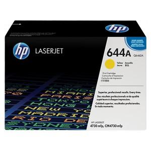 Cartucho de Toner HP 644A - Q6462A Amarillo original 12000 páginas PARA LA IMPRESORA HP Color LaserJet CM4730 FSK Toner