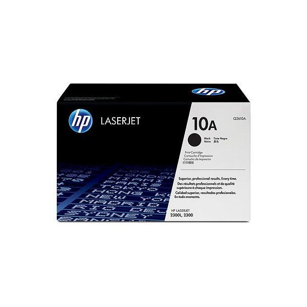 Toner HP 10A - Q2610A Preto original 6000 páginas